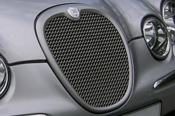 Jaguar S Type Mesh Grille Coloured Surround ONLY - Post 2004 Models
